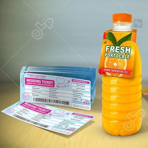 etichete carton etichete non-adezive  tag de produs