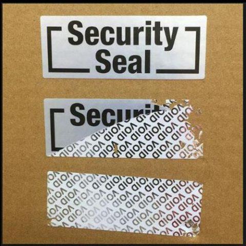 sigiliu de securitate etichete securizate