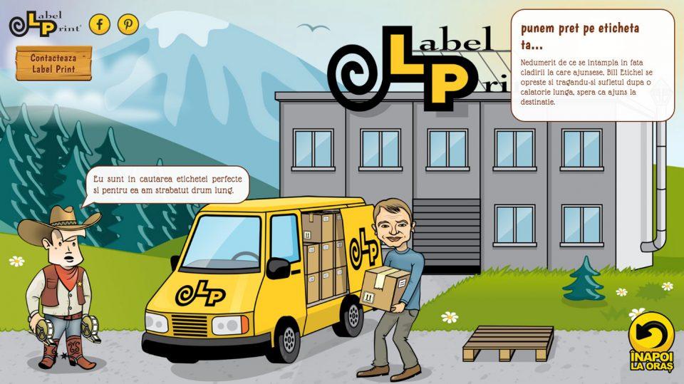 site tipografie etichete LabelPrint