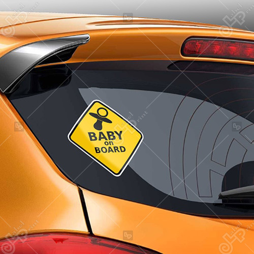 eticheta sticker masina baby on board