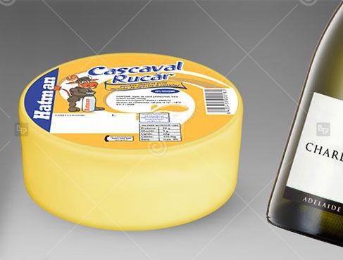 eticheta produs din lapte
